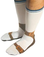 sandali e calzini